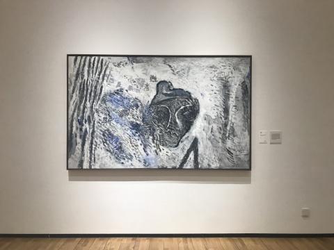 《逝者如斯》 布面丙烯 232×143cm 1998年