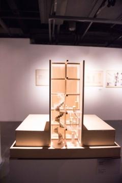 张永和 《垂直玻璃宅》 建筑模型 2012