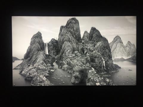 杨泳梁 《络绎不绝》 单屏4K影像 2017