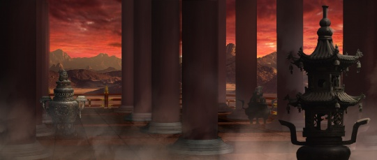 《明日早朝》美术场景效果图之一
