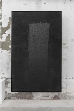 杨诘苍《墨西哥之旅》315x195cm墨、宣纸 1990