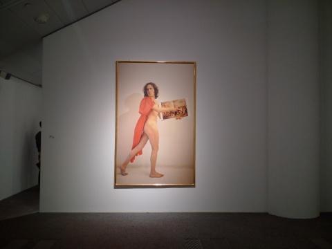 路易吉•翁塔尼(意大利)《仿大卫抢夺萨宾妇女》1974