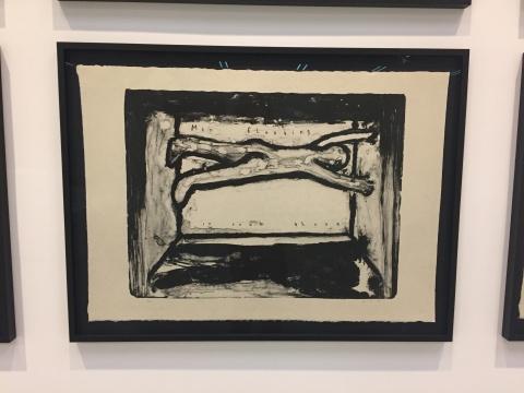 大卫·林奇 《石版画系列》 65×90cm×20 日本纸 2007-2010