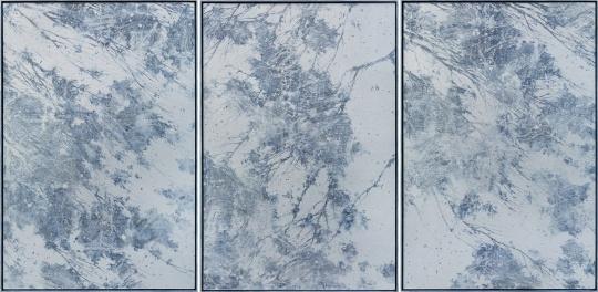 《C-170101》 225X150cmx3 布面丙烯 木框 2017