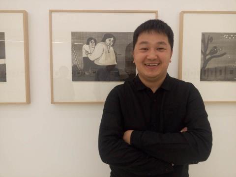 艺术家张雷