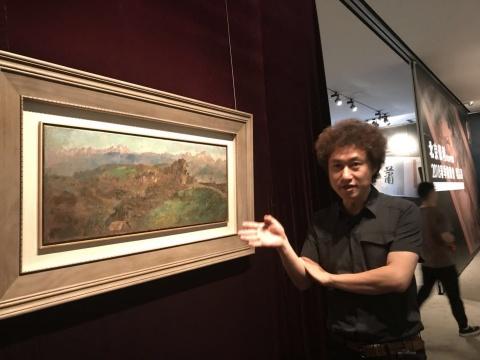 北京保利国际拍卖现当代艺术部总经理常天鹄介绍徐悲鸿作品