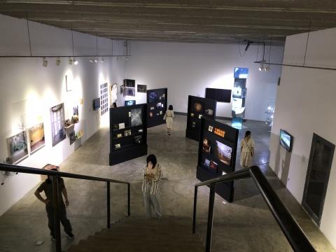 展览现场空间