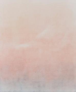 水彩粉白渐变素材