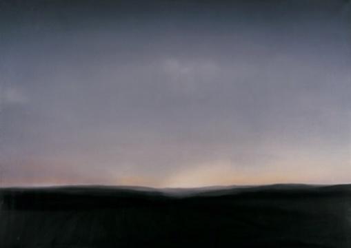 格哈德·里希特《胡贝尔拉特附近的埃费尔风光》 150×200cm 布面油彩 1969