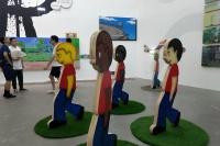 希帕画廊双个展开幕,李菁、张业鸿的两种叙事,李泊岩,张业鸿,王将,李菁