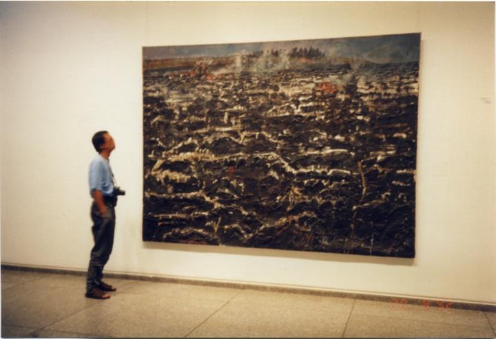 1992年,于欧洲游学,见到了很多过往崇拜的艺术家