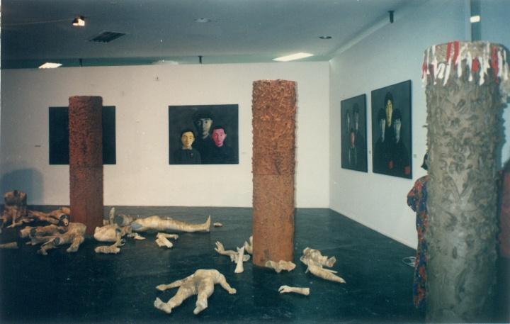 """1994年,""""第22届圣保罗双年展""""现场"""