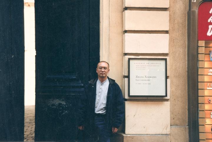 1999年4月,法兰西画廊个展