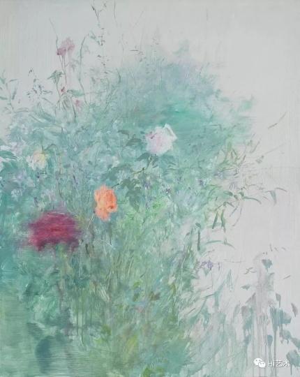 《杂花写生No.3-04》 100x80cm 布面油画 2013