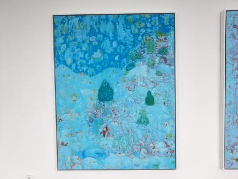 《东山雪霁No.1》168x130cm 布面油画 2017