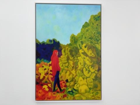《红衣》118x80cm 布面油画 2017