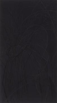 郝量《结庐五》绢本重彩 171 ×96 cm 2017