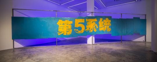 颜磊,《第五系统》 装置,尺寸可变,2003;2007