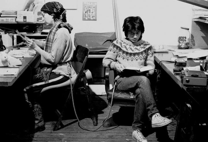 谢德庆 《绳子》 1983–1984
