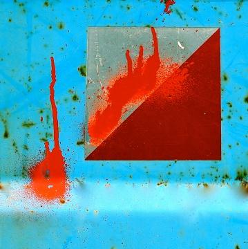 Abstract 5, Photography- Plexiglas on Plexiglas, 100x100 cm, 2017, Inger Morgondotter Jacobsen