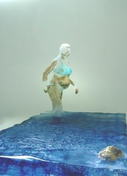 Celebrity, Glass sculpture, 20x34x21 cm, 2009, Masumi Igarashi