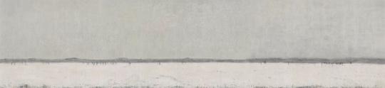 《长滩》190×830cm 纸本水墨2016