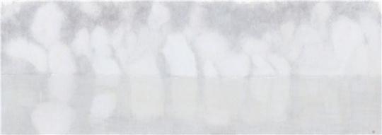 《自去来之二》250.5x89.5cm 水墨宣纸 2017