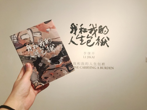 """""""我和我的人生包袱""""的画册里,有两篇房方和李继开的谈话,值得一读"""