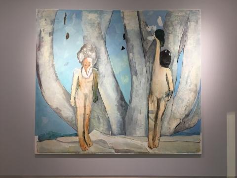 《大树下的意识》 270×310cm 布面油画 2017