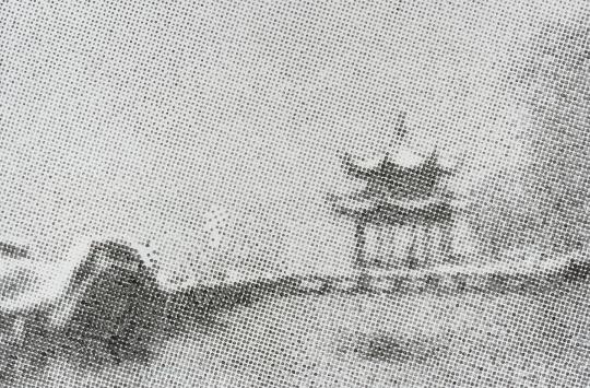 陈劭雄《杭州西湖》160 x 235 cm布面水墨2016