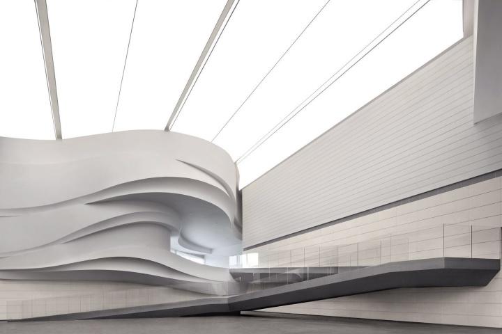 银川当代美术馆内景