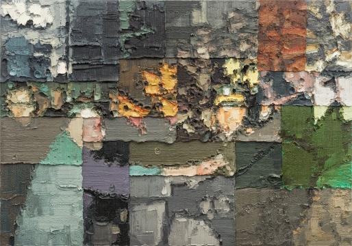 李松松 《绘画》 210x300cm 布面油画 2012