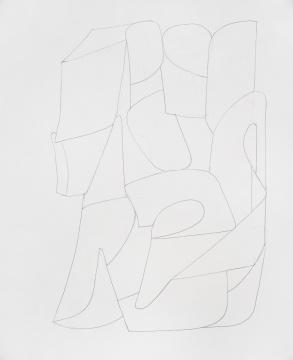 《水仙子》纸本素描 34×28cm 2018