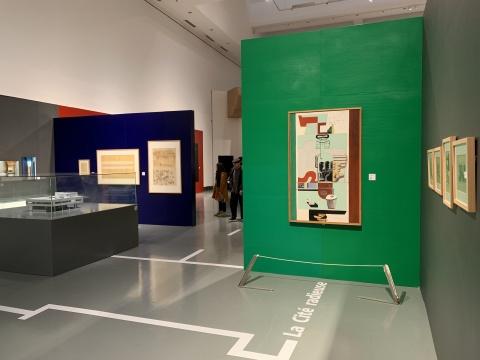展览现场的色彩也是展览的重要组成部分