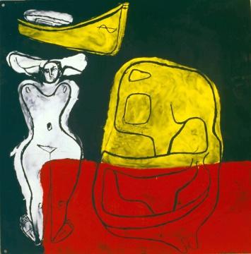 珐琅板绘画 1965年