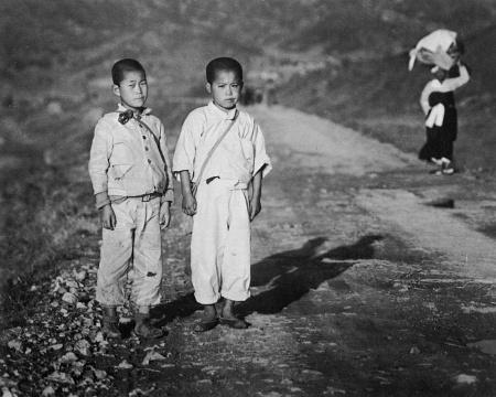林应植《少年时代(釜山)》1946图片由艺术家提供