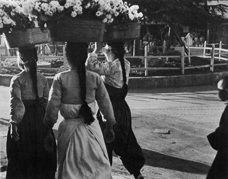 林应植《清晨(釜山)》1946图片由艺术家提供