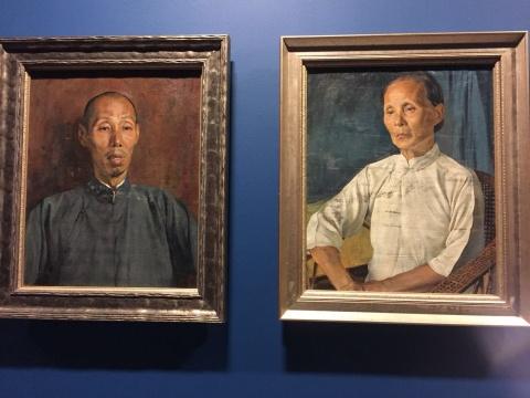 先驱之路:留法艺术家与中国现代美术 漫漫岁月长河中的艺术传承