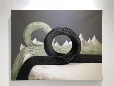 景达 《NO.1509 》布面油画 130x100cm 2015