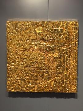 鲁道夫·斯丁格尔 《无题》 70×70cm 镀锌铸铜 2012  估价:780万-1600万港元