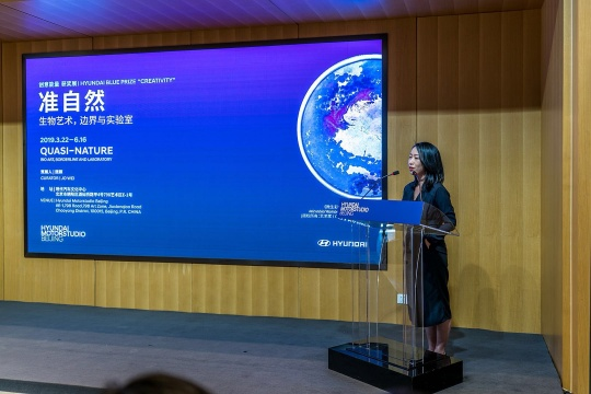 Hyundai Blue Prize 2018获奖人魏颖介绍其获奖展览