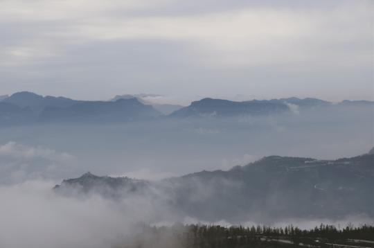 武隆·懒坝的自然景观