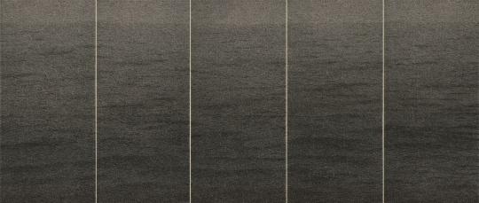 张诠 《水》400×950cm 纸本水墨 2009