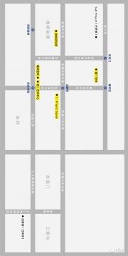 北京东城区二环以内的替代空间一览(点击图片放大)
