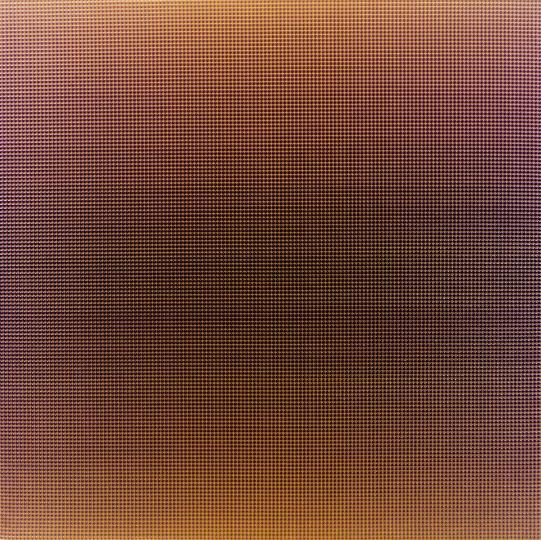 谢墨凛 《叠No.038》 170×170cm布面丙烯2013©️泰康收藏