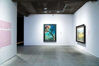 """""""中国风景:2019泰康收藏精品展""""在798艺术区A07大楼展览现场"""