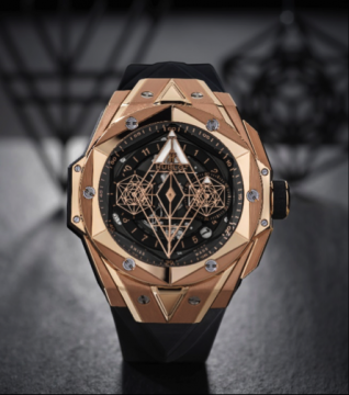 新款刺青腕表运用更精细的线条设计打造三维视觉体验