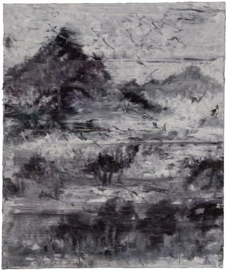 《移动山水1号》60×50cm 布面油画 2011