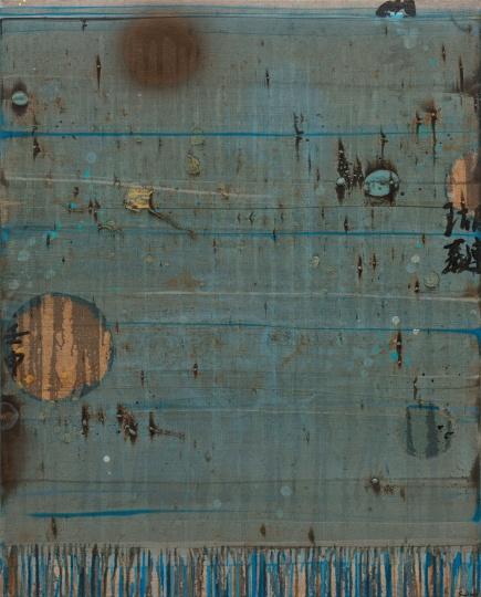《空白252号》100×80cm 布面油画 2018