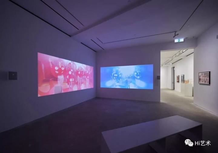 """2019年年初在香港卓纳展出的马塞尔·扎马个展""""穿越界限"""""""